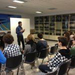 Mauro Fattor incontra i ragazzi in sala conferenze